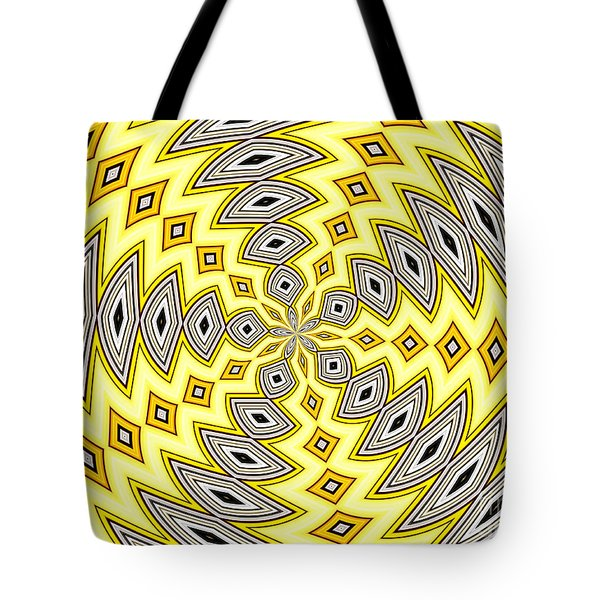 Tote Bag featuring the photograph Stained Glass Kaleidoscope 18 by Rose Santuci-Sofranko