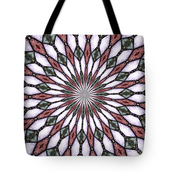 Tote Bag featuring the photograph Stained Glass Kaleidoscope 2 by Rose Santuci-Sofranko