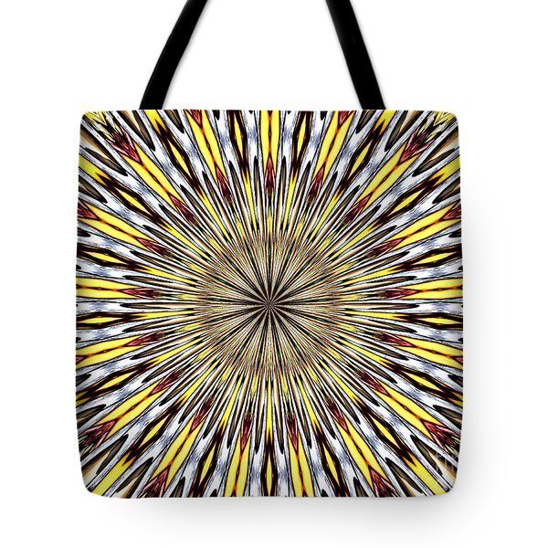 Tote Bag featuring the photograph Stained Glass Kaleidoscope 22 by Rose Santuci-Sofranko
