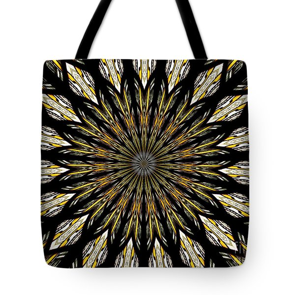 Tote Bag featuring the photograph Stained Glass Kaleidoscope 5 by Rose Santuci-Sofranko