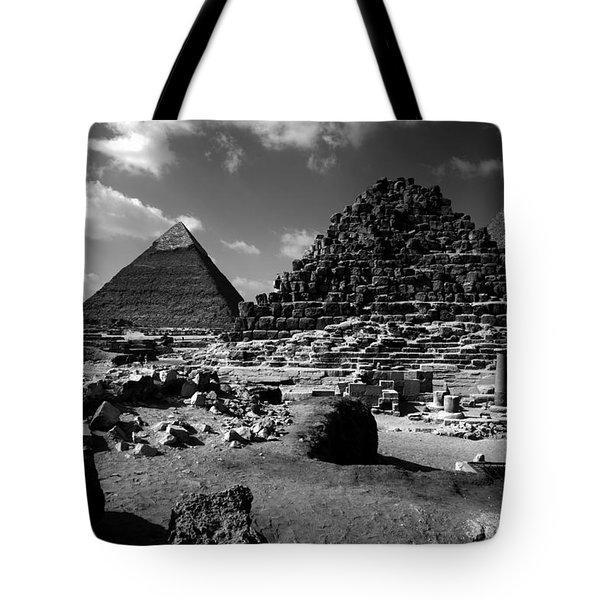 Stair Stepped Pyramids Tote Bag