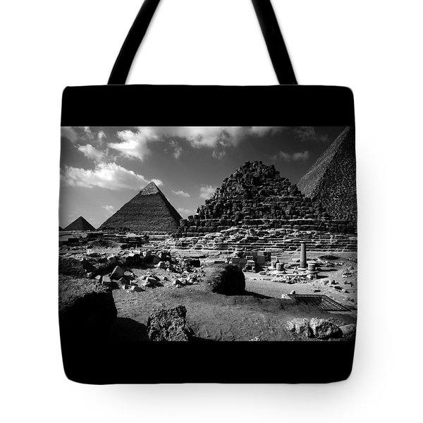 Stair Stepped Pyramids Tote Bag
