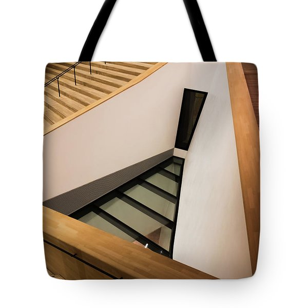 Staircase In Elbphiharmonic Tote Bag