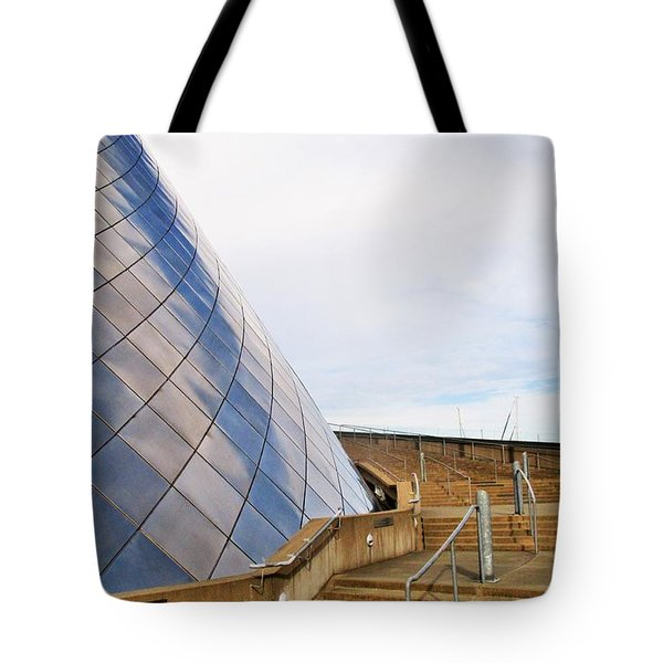 Staircase  Tote Bag by Martin Cline