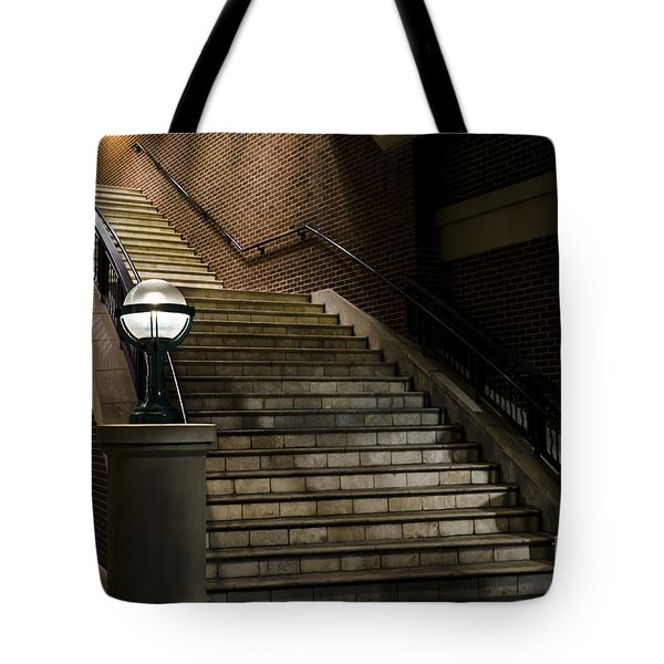 Staircase On The Blvd. Tote Bag