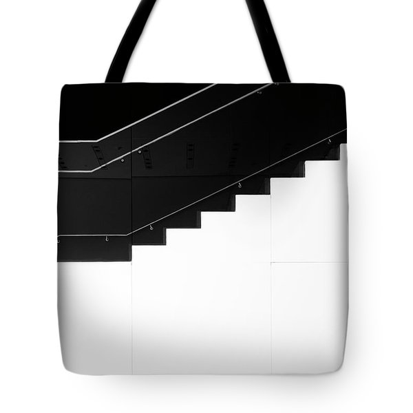Tote Bag featuring the photograph Stairs 3 by Elena Nosyreva