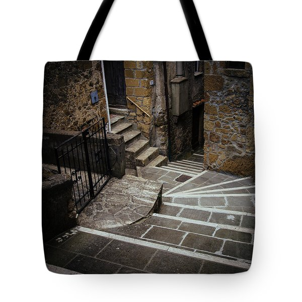 Stairs In Motion Tote Bag