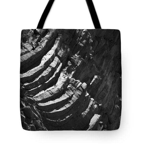 Stairs Of Time Tote Bag