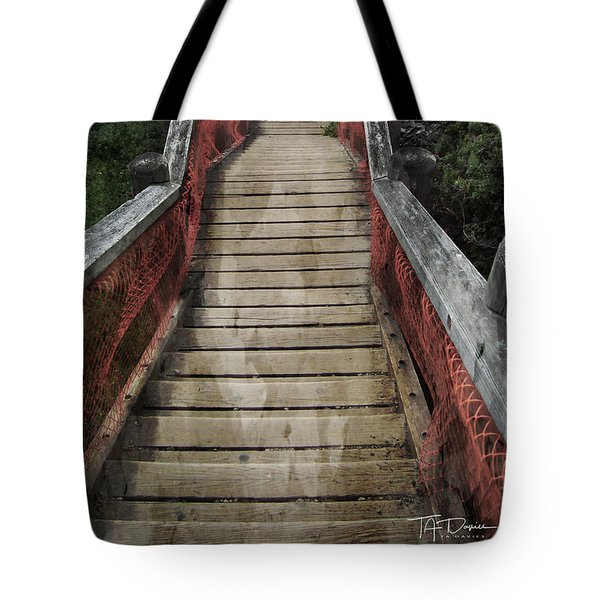 Tote Bag featuring the photograph Stairs To Bliss by T A Davies