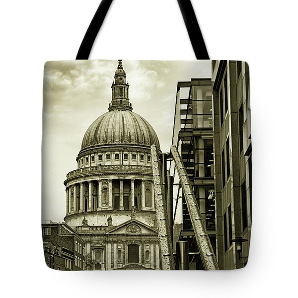Stairs To St Pauls Tote Bag