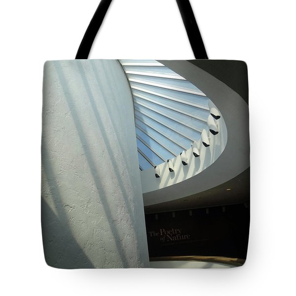 Stairway Abstract Tote Bag