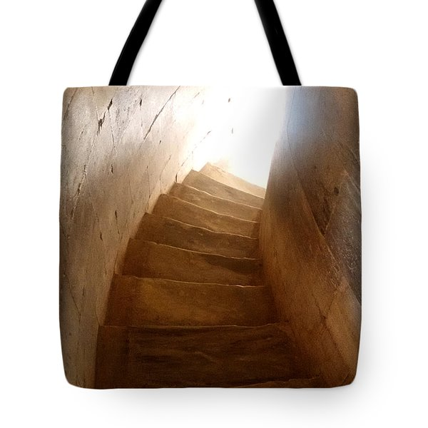 Stairway From Heaven Tote Bag