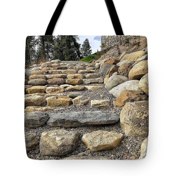 Stairway To Glory Tote Bag