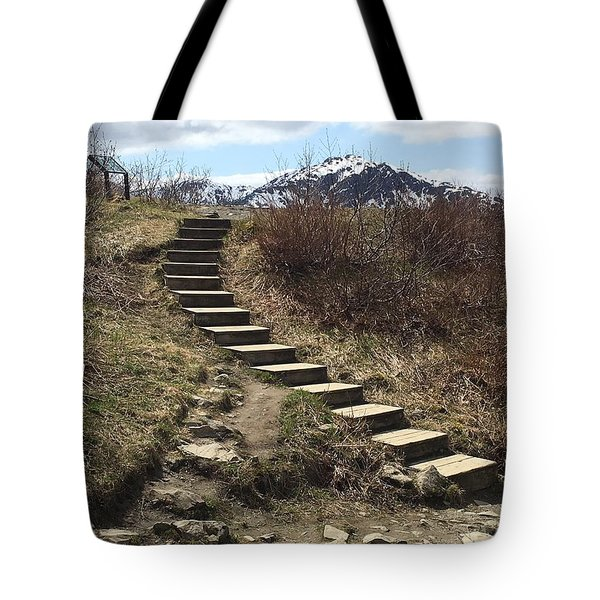 Stairway To Heaven II Tote Bag