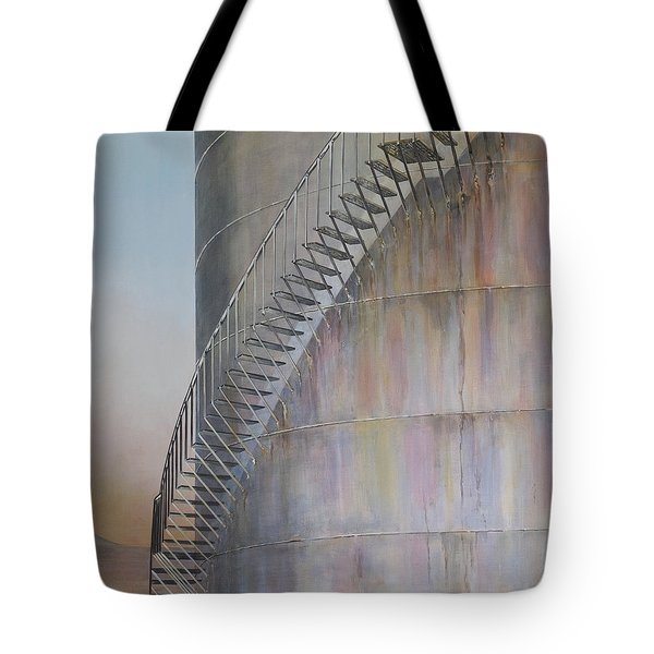 Stairway To Heaven Tote Bag by Marty Garland