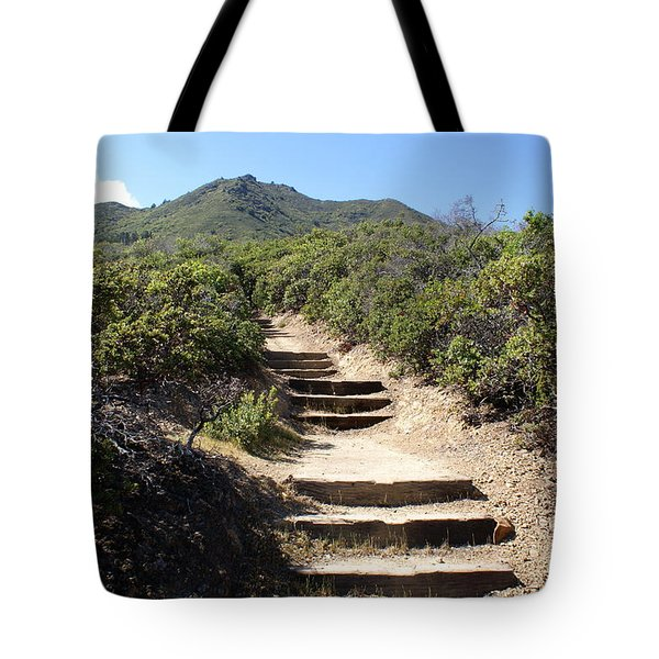 Stairway To Heaven On Mt Tamalpais Tote Bag
