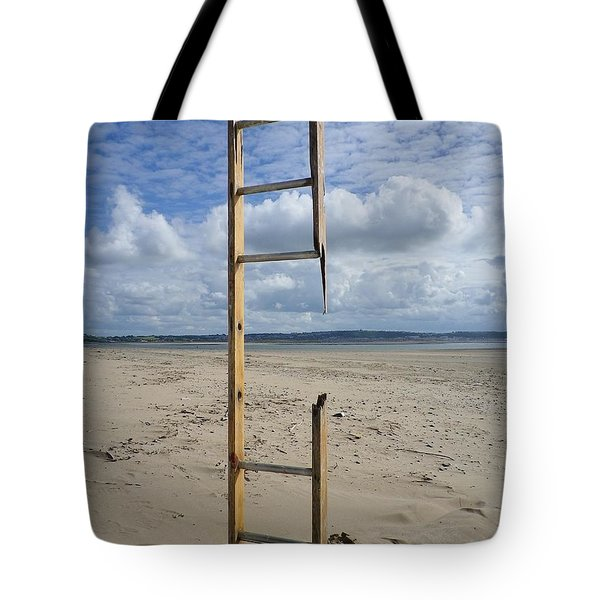 Stairway To Heaven Tote Bag by Richard Brookes