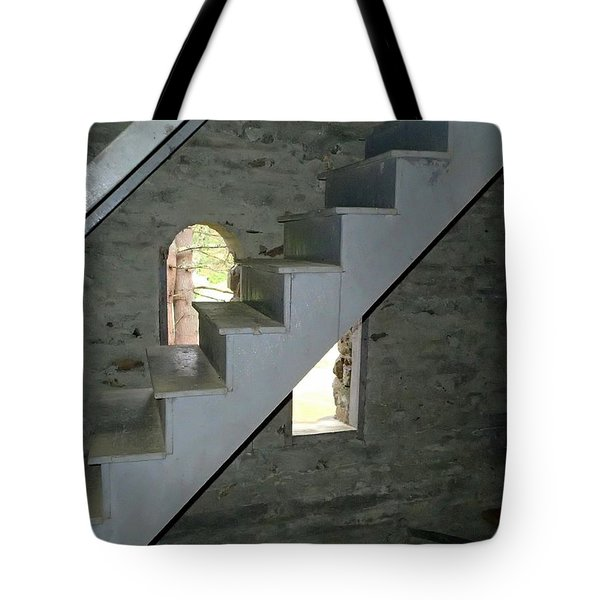 Stairway To The Bells Tote Bag
