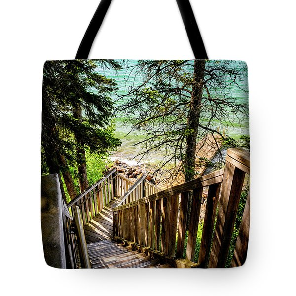 Stairways To Paradise Tote Bag