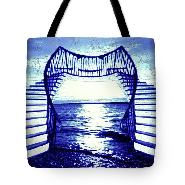 Stairways To The Stars Tote Bag
