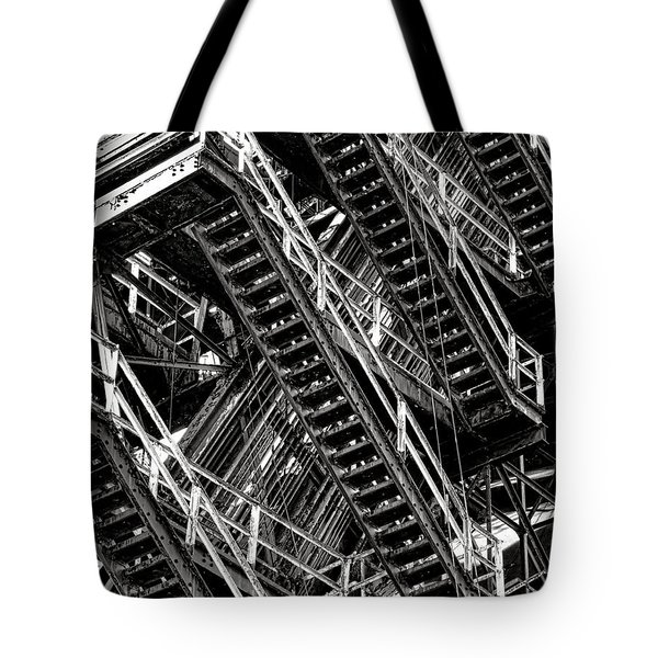 Stairwell Hell Tote Bag