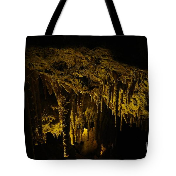 Stalactites Tote Bag by Oscar Moreno