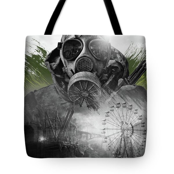 Tote Bag featuring the digital art Stalker by IamLoudness Studio