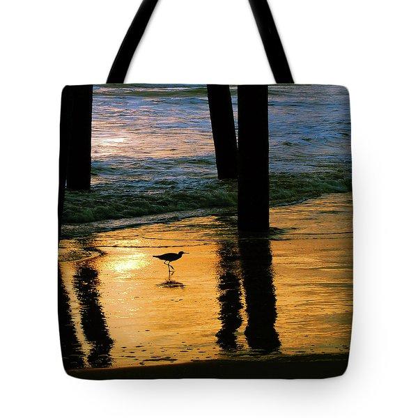 Stalking Shadows Tote Bag