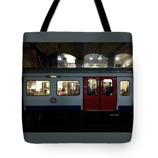 Stalled Underground Tote Bag