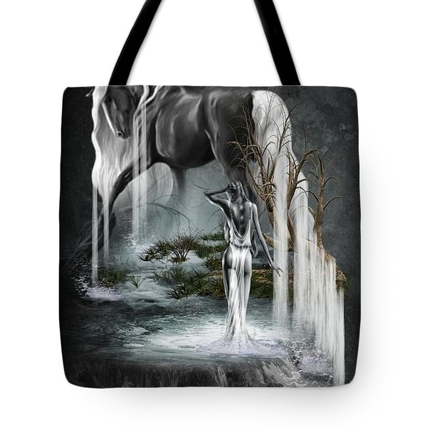 Stallion Falls Tote Bag