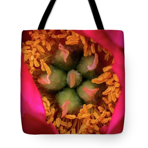 Stamen And Pistils Tote Bag