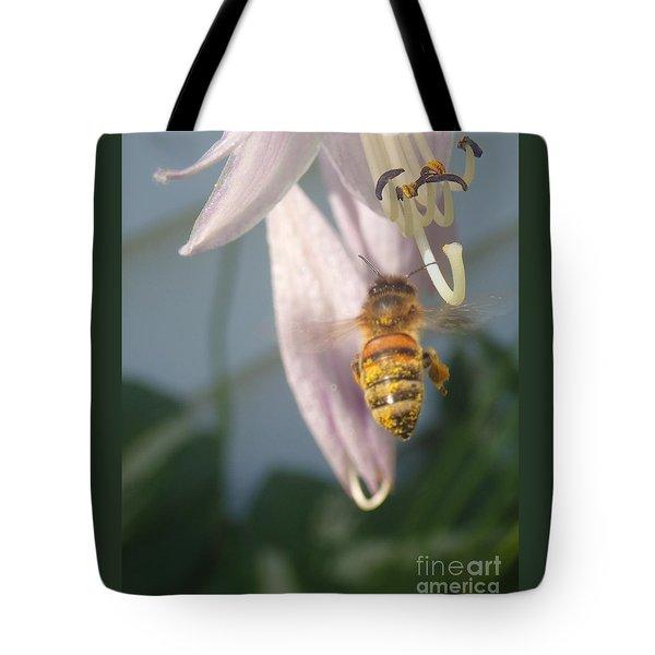 Stamen Attraction Tote Bag by Christina Verdgeline