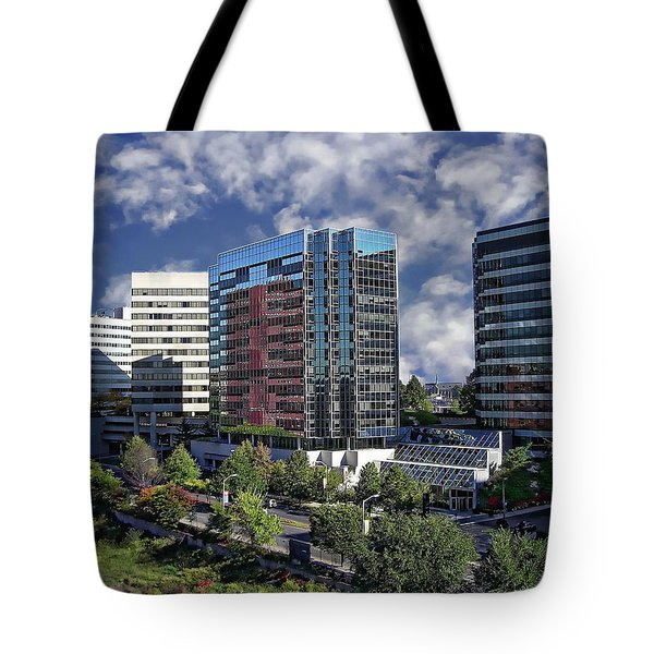 Stamford City Center Tote Bag