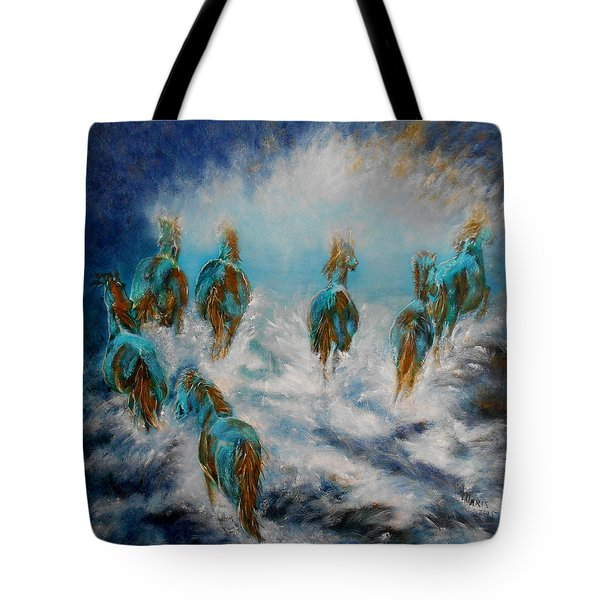 Stampede To Heaven Tote Bag