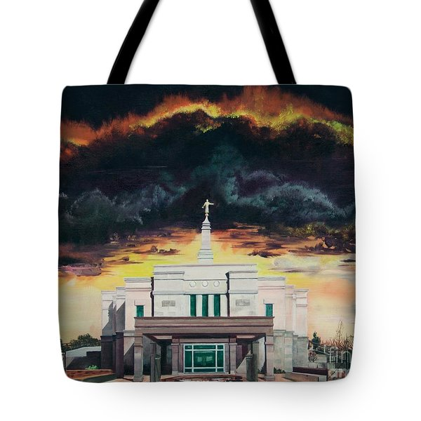 Stand In Holy Places Tote Bag