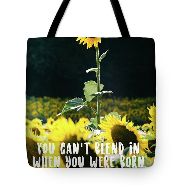 Tote Bag featuring the photograph Stand Out by Andrea Anderegg