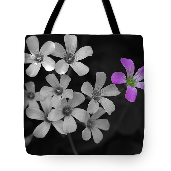 Tote Bag featuring the photograph Stand Up Stand Out by Maggy Marsh