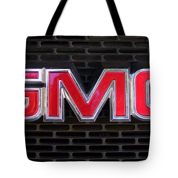 Standard Gmc Emblem And Grille Tote Bag