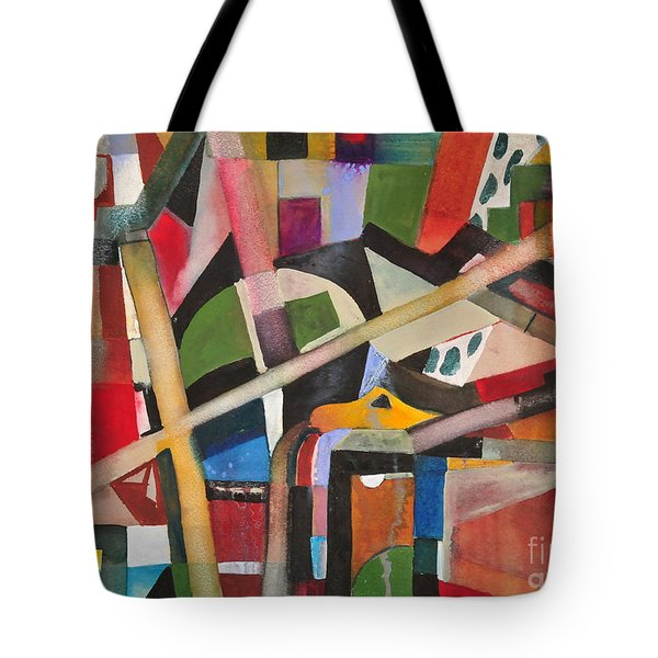 Standard Pipeing Tote Bag