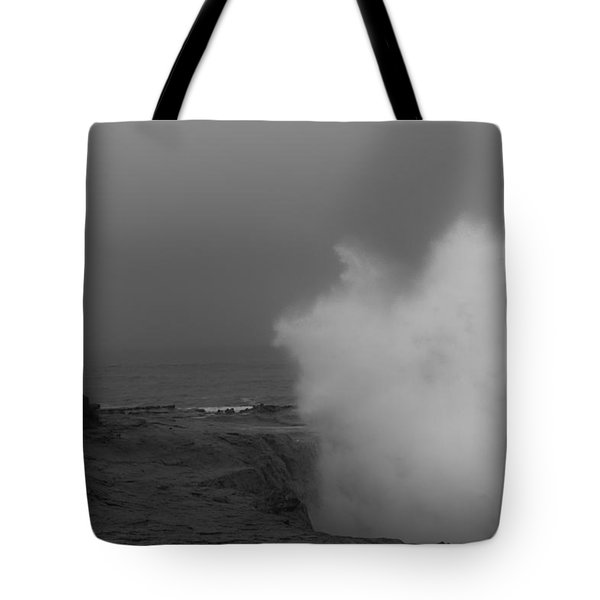 Standing Against Nature Tote Bag