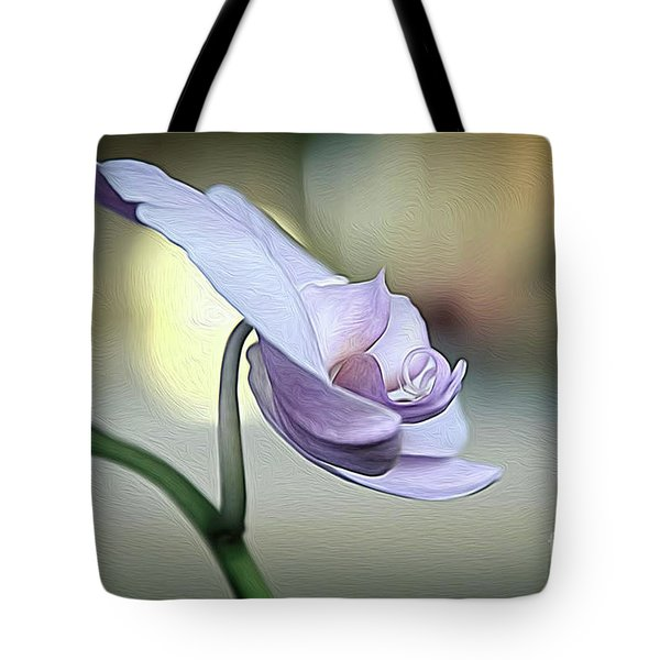 Standing Alone In Silence Tote Bag