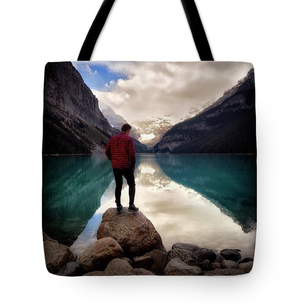 Standing Alone Tote Bag by Nicki Frates