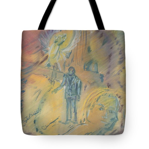 Standing At The Crossroads Tote Bag