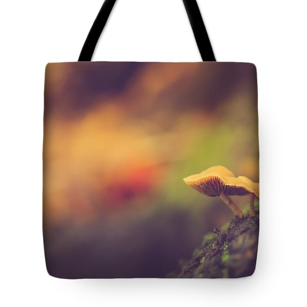 Standing At The Edge Tote Bag