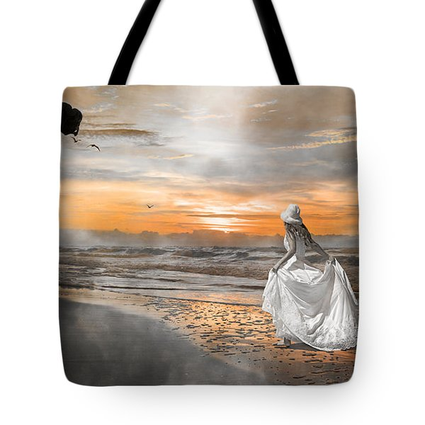 Standing By My Word Tote Bag by Betsy Knapp