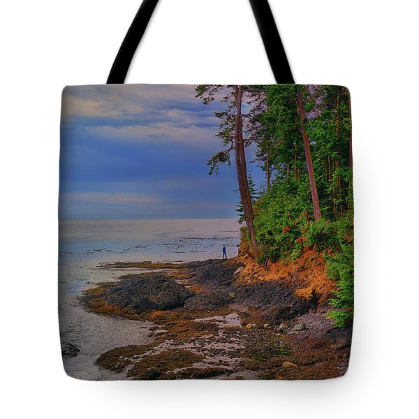 Standing By The Sea Tote Bag