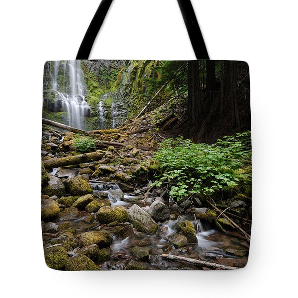 Standing Downstream Tote Bag