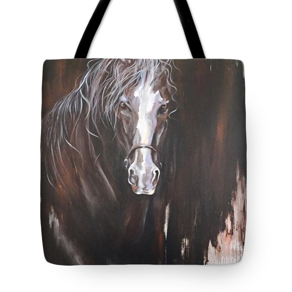 Standing Firm Tote Bag by Heather Roddy