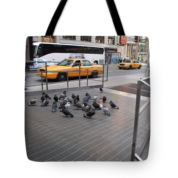 Standing Guard Tote Bag by Rob Hans