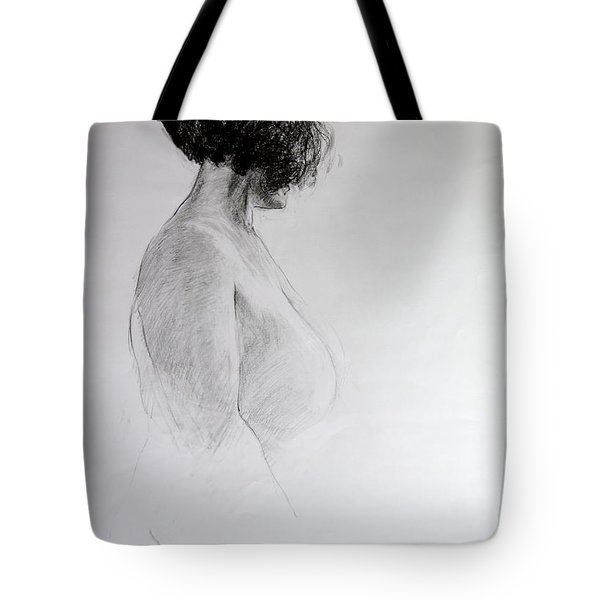 Standing Nude Tote Bag by Harry Robertson